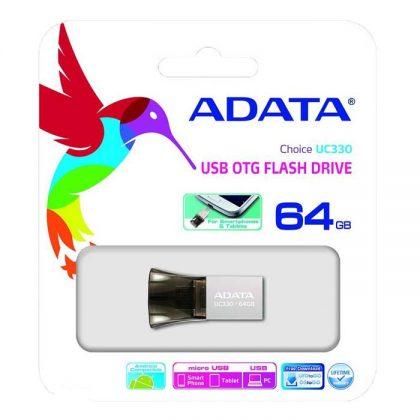 فلش مموری ADATA Choice UC330 OTG 64G