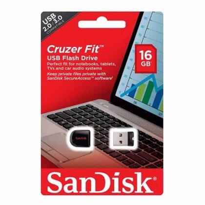 فلش مموری SanDisk Cruzer Fit CZ33 16G