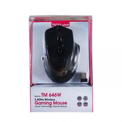 ماوس بی سیم گیمینگ TSCO TM-646W