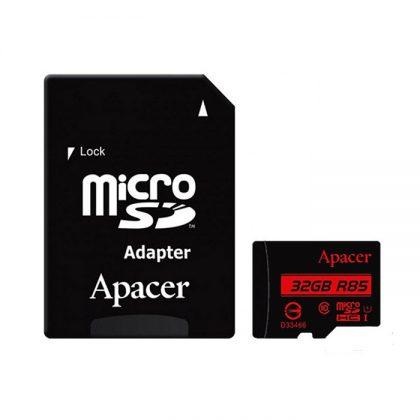 رم میکرو Apacer UHS-I U1 85MBps Class10 32GB