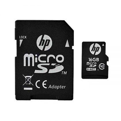 مموری میکرو HP microSD Class10 U1 16GB