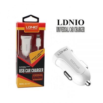 شارژر فندکی LDNIO DL-C17