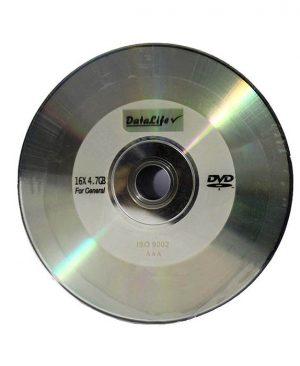 دی وی دی خام دیتالایف ۵۰ عددی DataLife DVD