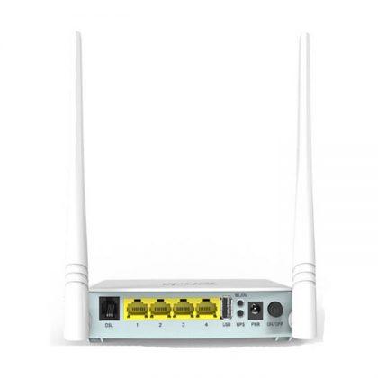 مودم روتر وایرلس تندا Tenda D301 V2 ADSL2+ Wireless N300 Modem Router