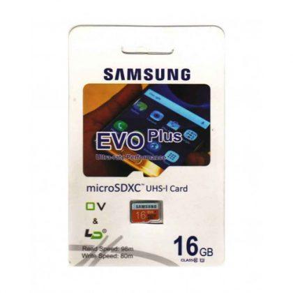 رم میکرو Samsung 16GB Class10 U1