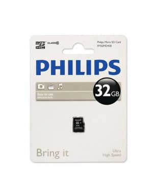 رم میکرو فیلیپس Philips Micro SD Card Class10 32GB