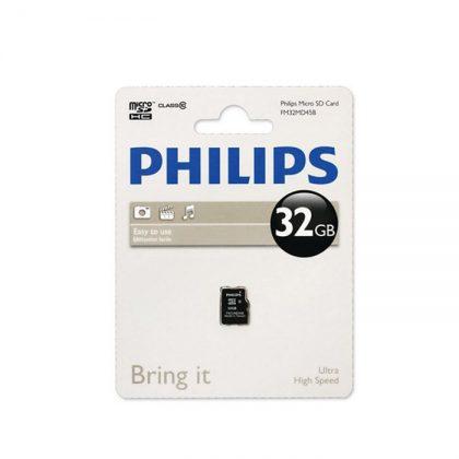 رم میکرو فیلیپس Philips Micro SD Card Class10 32GB
