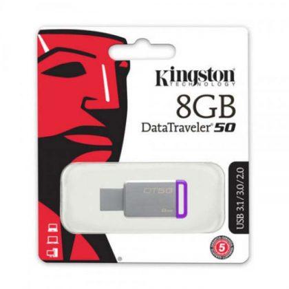 فلش مموری کینگستون Kingston DT50 USB3.1 8G