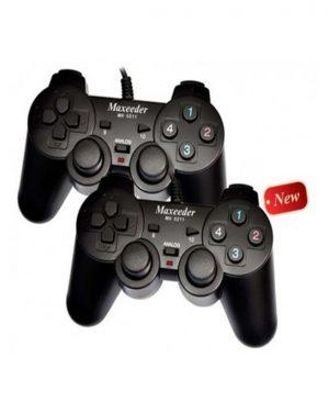 دسته بازی دوبل شوکدار Maxeeder MX 0211