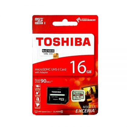 مموری میکرو TOSHIBA microSDHC CLASS10 90MB/S 16GB