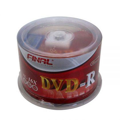 دی وی دی خام فینال ۵۰ عددی FINAL DVD-R