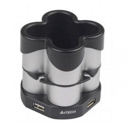 هاب USB چهار پورت به همراه جامدادی A4Tech HUB-77