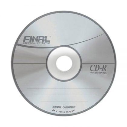 سی دی خام فینال ۵۰ عددی FINAL CD-R
