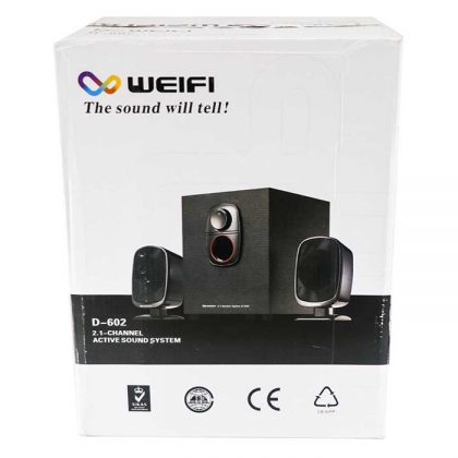 اسپیکر 3 تیکه Weifi D-602