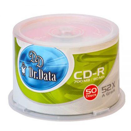 سی دی خام دکتر دیتا ۵۰ عددی Dr-Data CD