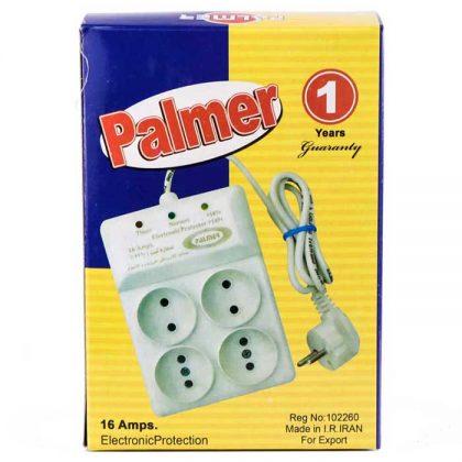 محافط برق 4 خانه Palmer 16A