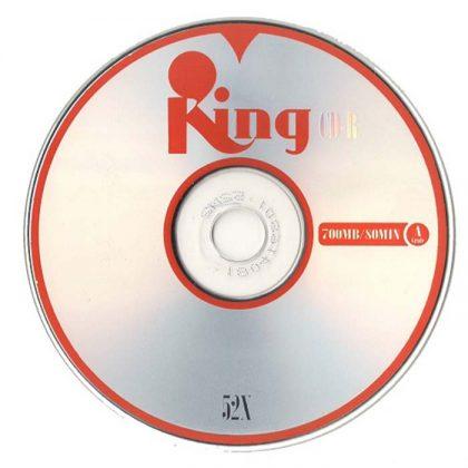 سی دی خام کینگ ۵۰ عددی King CD-R