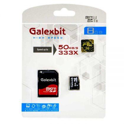 مموری میکرو Galexbit 333X U1 50MB/S 8G