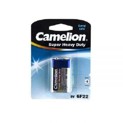 باتری کتابی 9 ولت Camelion Super Heavy Duty