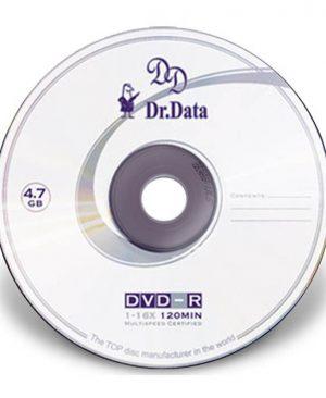 دی وی دی خام دکتردیتا ۵۰ عددی Dr-Data DVD-R