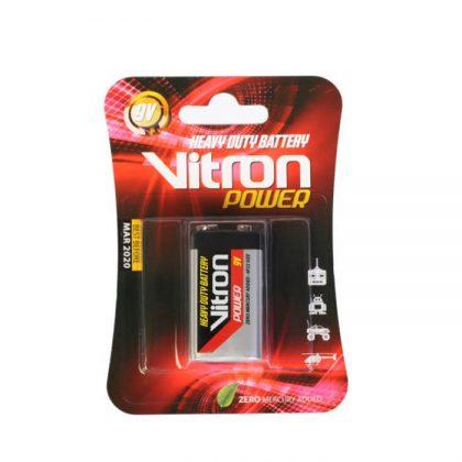 باتری کتابی 9 ولت Vitron 6F22