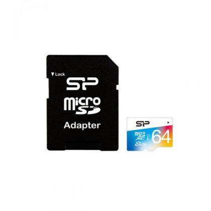 مموری میکرو سیلیکون پاور Silicon Power 64GB Class10 Elite