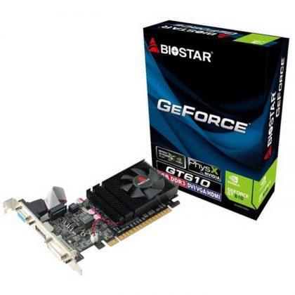 کارت گرافیک بایوستار Biostar GT610 2GB 64bit DDR3