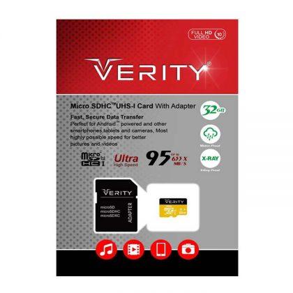 مموری میکرو Verity Class10 U1 95MB/S 32GB