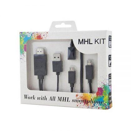 کابل تبدیل MicroUsb به HDMI (کیت MHL)