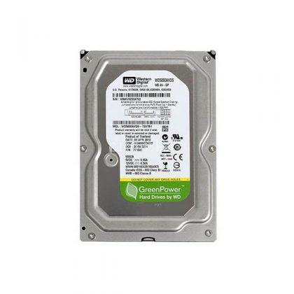هارد اینترنال 500 گیگ وسترن دیجیتال Western Digital Green WD5000AVDS