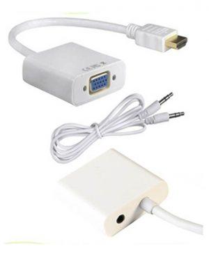 تبدیل HDMI به VGA + کابل صدا