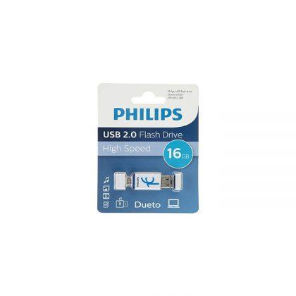 فلش مموری فیلیپس Philips Dueto FM16FDI28B OTG 16GB