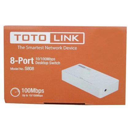 سوييچ 8 پورت توتولينک TOTOLINK S808