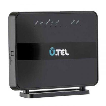 مودم روتر بی سیم یوتل UTEL V301 Wireless N300Mbps ADSL2+/VDSL