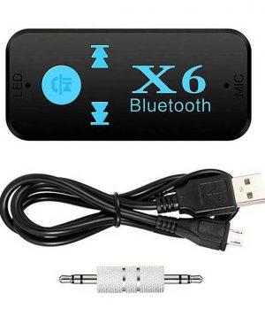 گیرنده بلوتوثی و رم خور Car Bluetooth X6