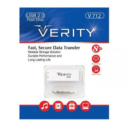 فلش مموری وریتی Verity V712 8GB