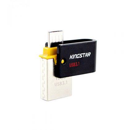 فلش مموری کینگ استار KingStar S30 OTG USB 3.1 64GB