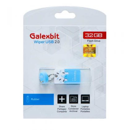 فلش مموری گلکسبیت Galexbit Wiper 32GB
