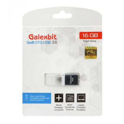 فلش مموری گلکسبیت Galexbit Swift OTG USB3.0 16GB