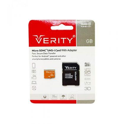 مموری میکرو وریتی Verity Class10 633X 95MB/S 32GB