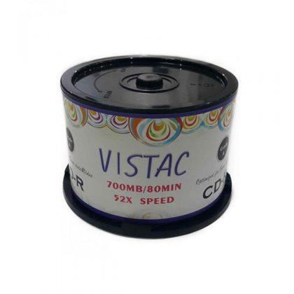 سی دی خام ویستک ۵۰ عددی VISTAC CD-R