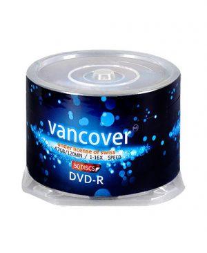 دی وی دی خام ونکوور ۵۰ عددی Vancouver DVD-R