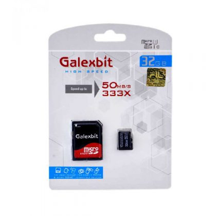 مموری میکرو گلکسبیت Galexbit 333X U1 50MB/S 32GB
