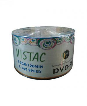 دی وی دی خام ویستک ۵۰ عددی VISTAC DVD-R