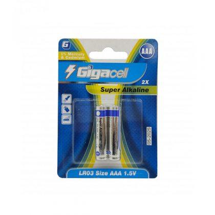 باتری نیم قلمی آلکالاین گیکاسل Gigacell LR03