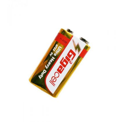 باتری کتابی 9 ولت Gigacell 6F22