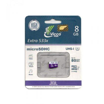 مموری میکرو ویکو من Vicco man Extra 533X UHS-I U1 8GB