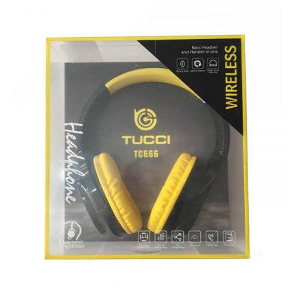 هدفون بی سیم TUCCI TC666
